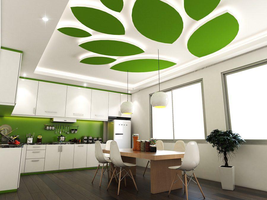 Thay đổi màu sắc cho trần nhà