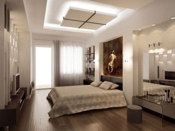mẫu trần thạch cao phòng ngủ 7