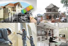 dịch vụ sơn nhà trọn gói