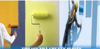 thợ sơn nhà chuyên nghiệp quận 2 hcm