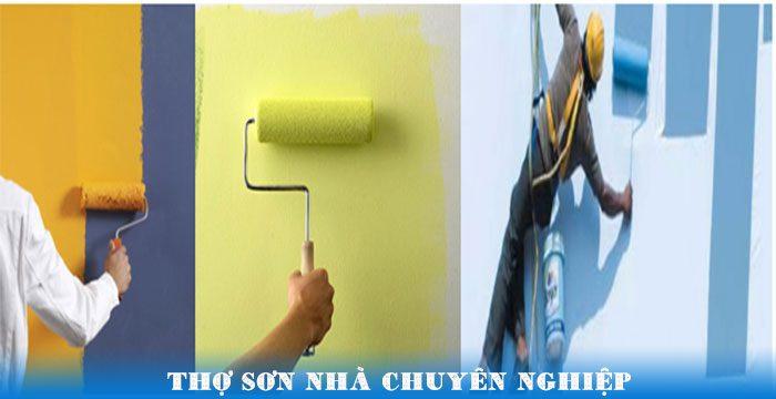 Thợ sơn nhà chuyên nghiệp