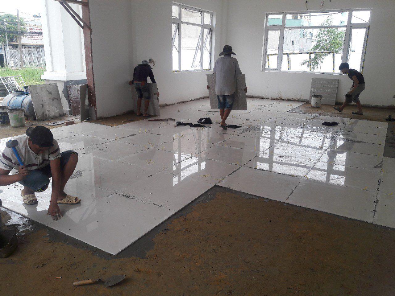 Thợ xây trát ốp lát quận cầu giấy