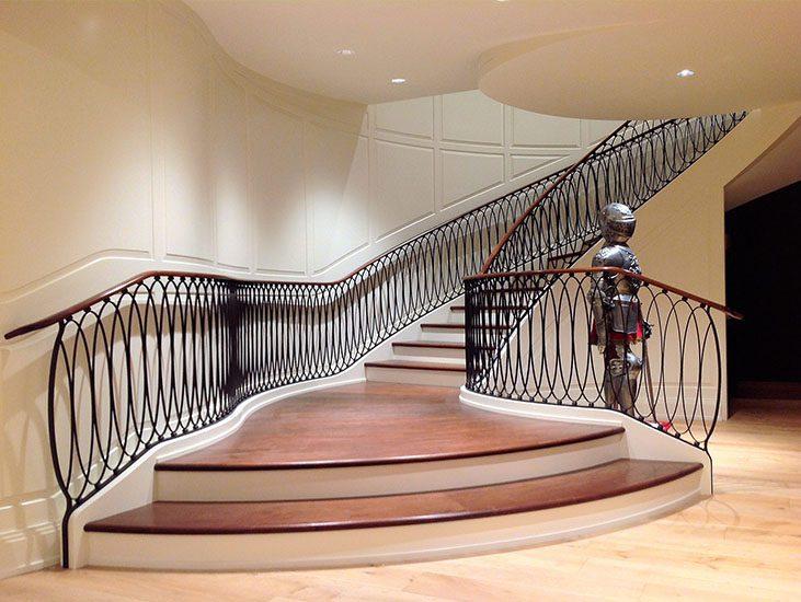 Hàn cầu thang sắt nghệ thuật