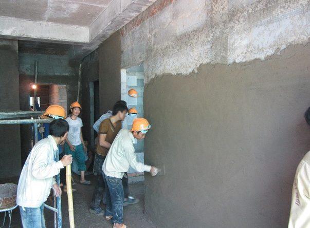 nhận xây trát tại hà nội